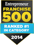 Entrepreneur Franchise 500 Badge